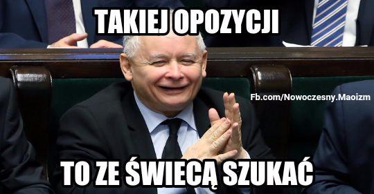 Znalezione obrazy dla zapytania Memy o opozycji