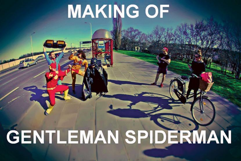 """Gentelman Spiderman"""