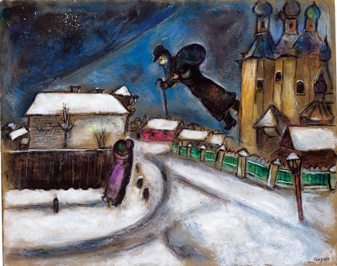 30 lat temu odszed marc chagall komisarz chagall. Black Bedroom Furniture Sets. Home Design Ideas