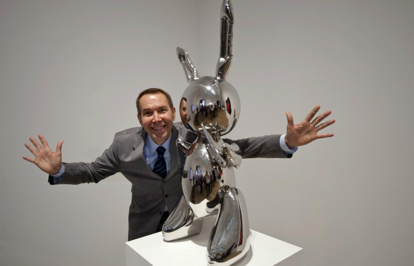 "Jeff Koons i ""Rabbit"""