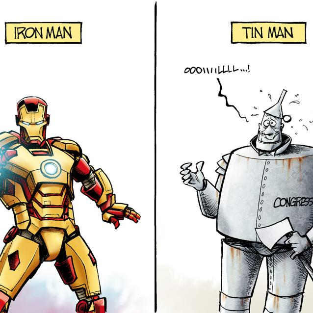 Iron Man tin man