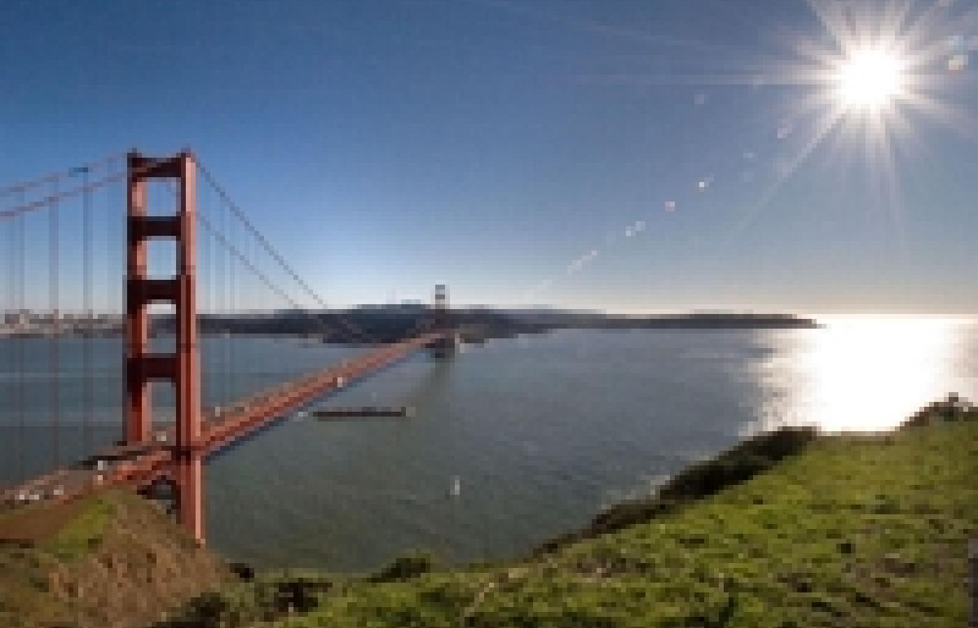 Fot. David Ball (GNU), Most Golden Gate