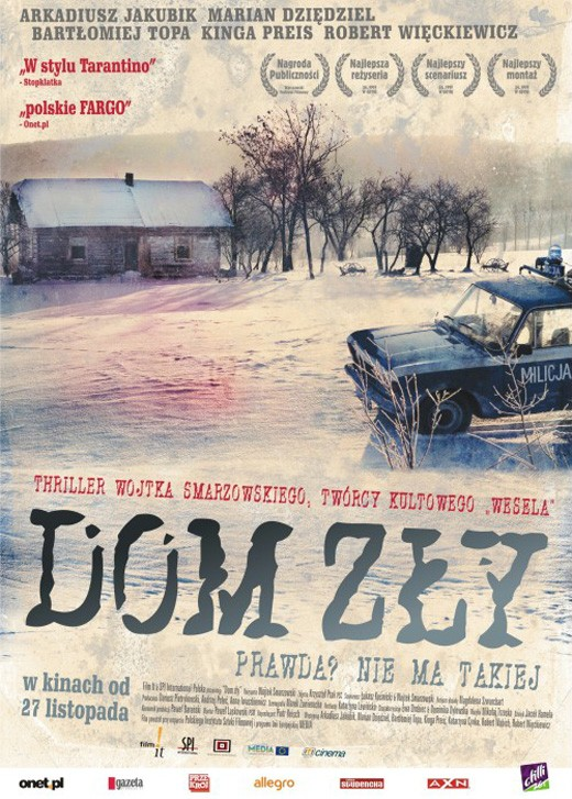 Plakat do filmu 'Dom zły'