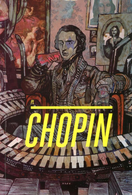 Okładka komiksu 'Chopin. New Romantic' .