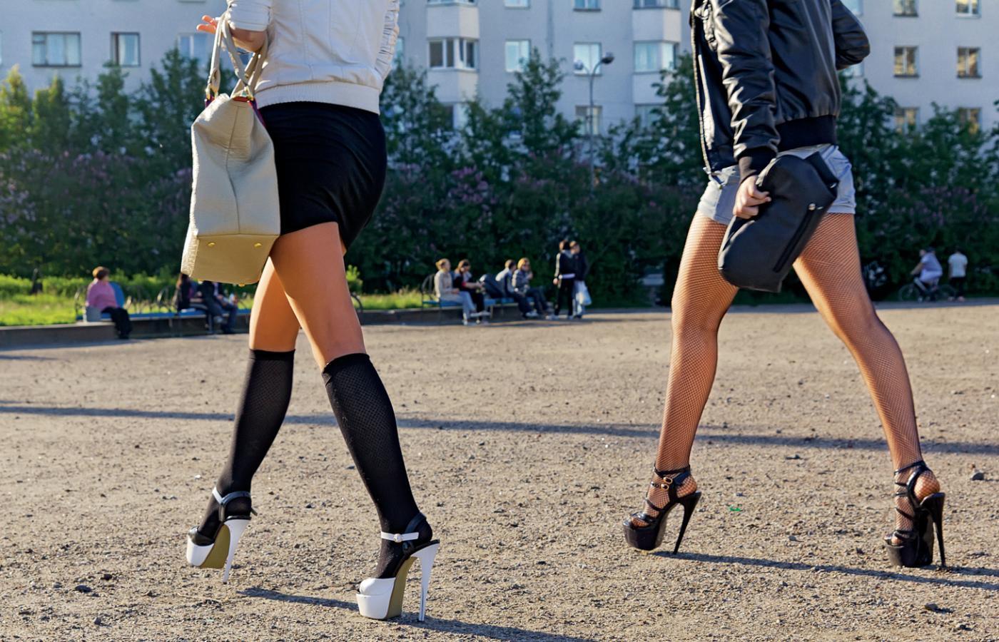 Rosjanki za kołem podbiegunowym kochają wysokie obcasy