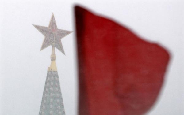 Gwiazda na jednej z baszt moskiewskiego Kremla