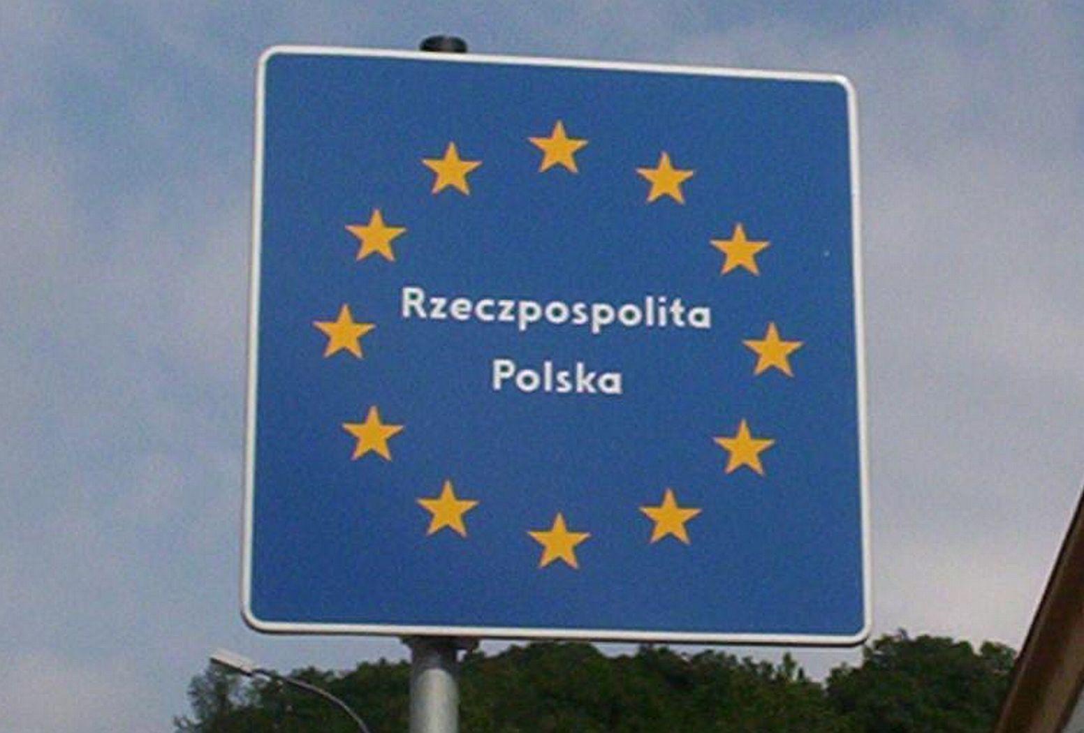 Znalezione obrazy dla zapytania polska granica unia