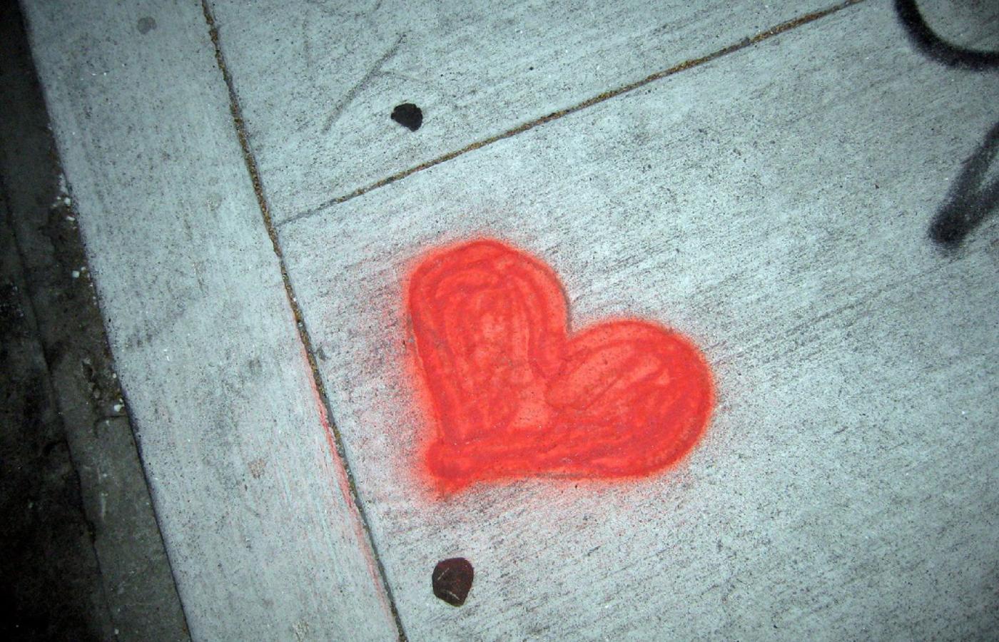Co oznacza serce i krzyzyk na badoo
