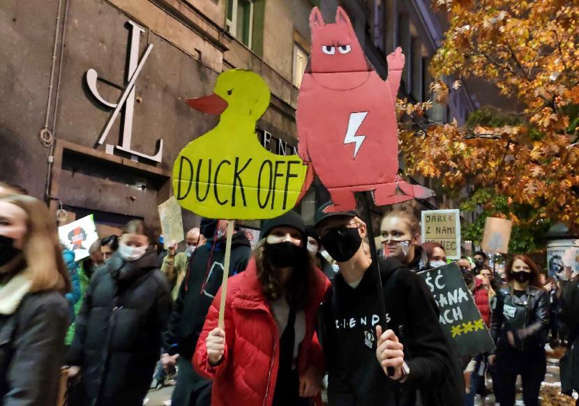 Strajk kobiet w Warszawie, 30 października 2020