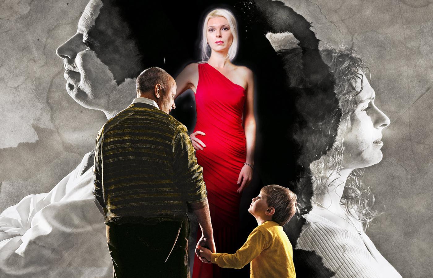 Spotyka się z samotnym ojcem z córką