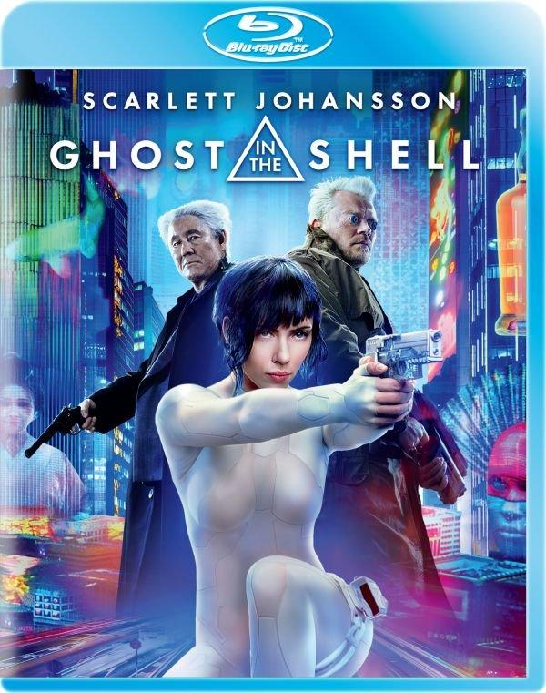 """Ghost in the Shell"" na Blu-ray"