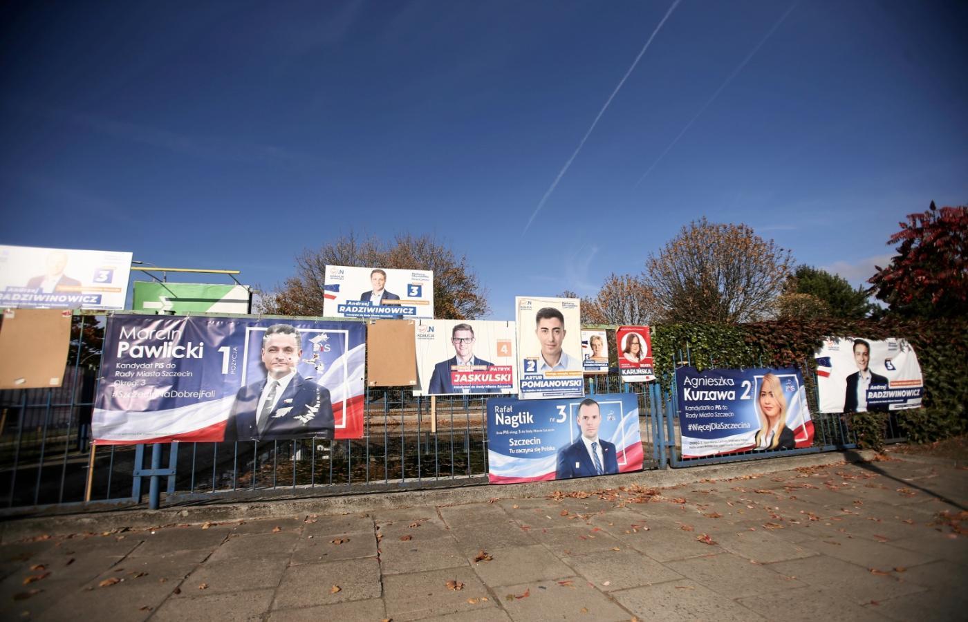 Do 20 Listopada Banery Wyborcze Muszą Zniknąć Co Z Nimi