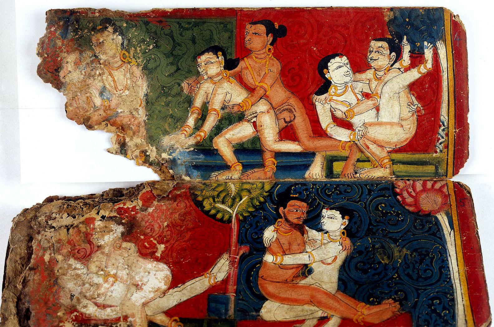Seks azjatycki i masaż