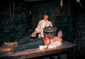 The London Dungeon – muzeum tortur.