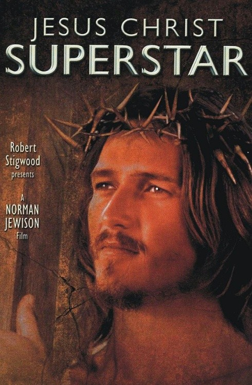 Plakat do filmu 'Jesus Christ Superstar'