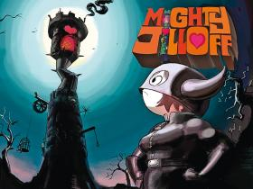 "Kadr z ""Mighty Jill Off""."