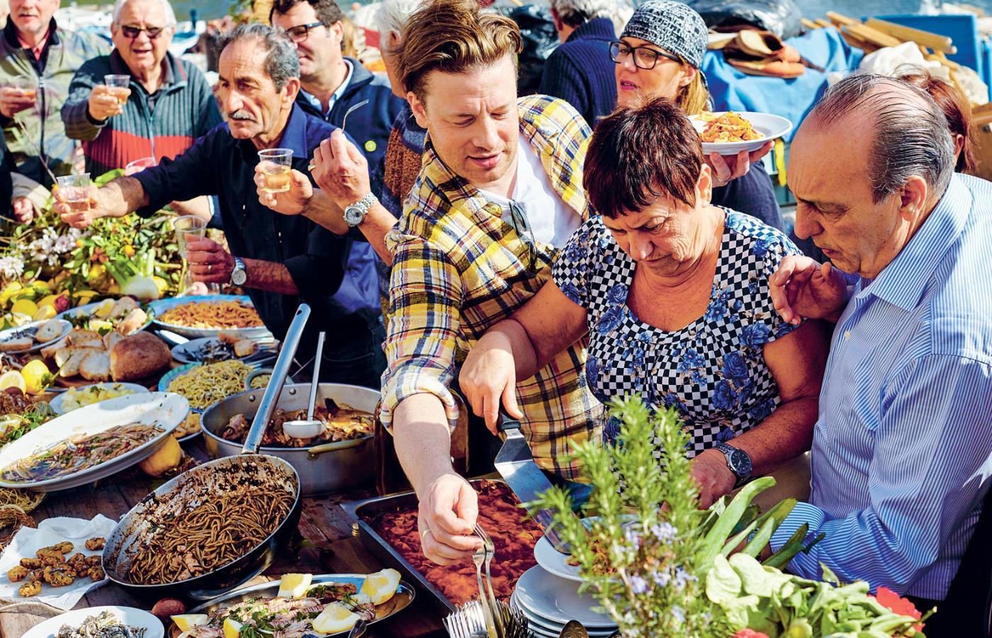 Jamie Oliver O Przyjemności Pochodzącej Z Gotowania Szef