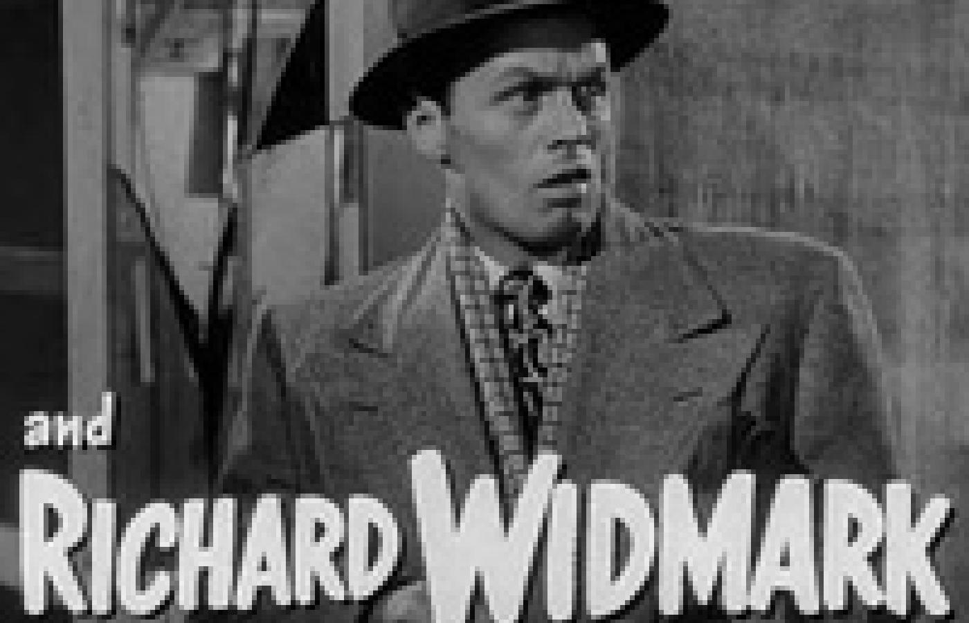 Richard Widmark. Kadr z