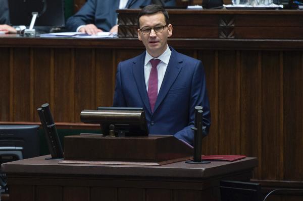 Nowy premier Mateusz Morawiecki wygłosił exposé.