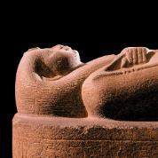 Sarkofag Bożej Małżonki Netiqeret (z grecka nazywanej Nitokris), córki Psametyka I z Sais, założyciela XXVI dynastii z Okresu Późnego.