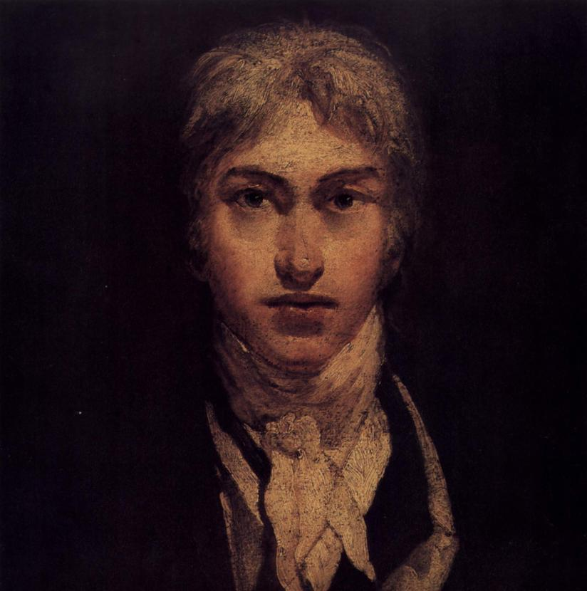 William Turner. Autoportret z 1798 roku