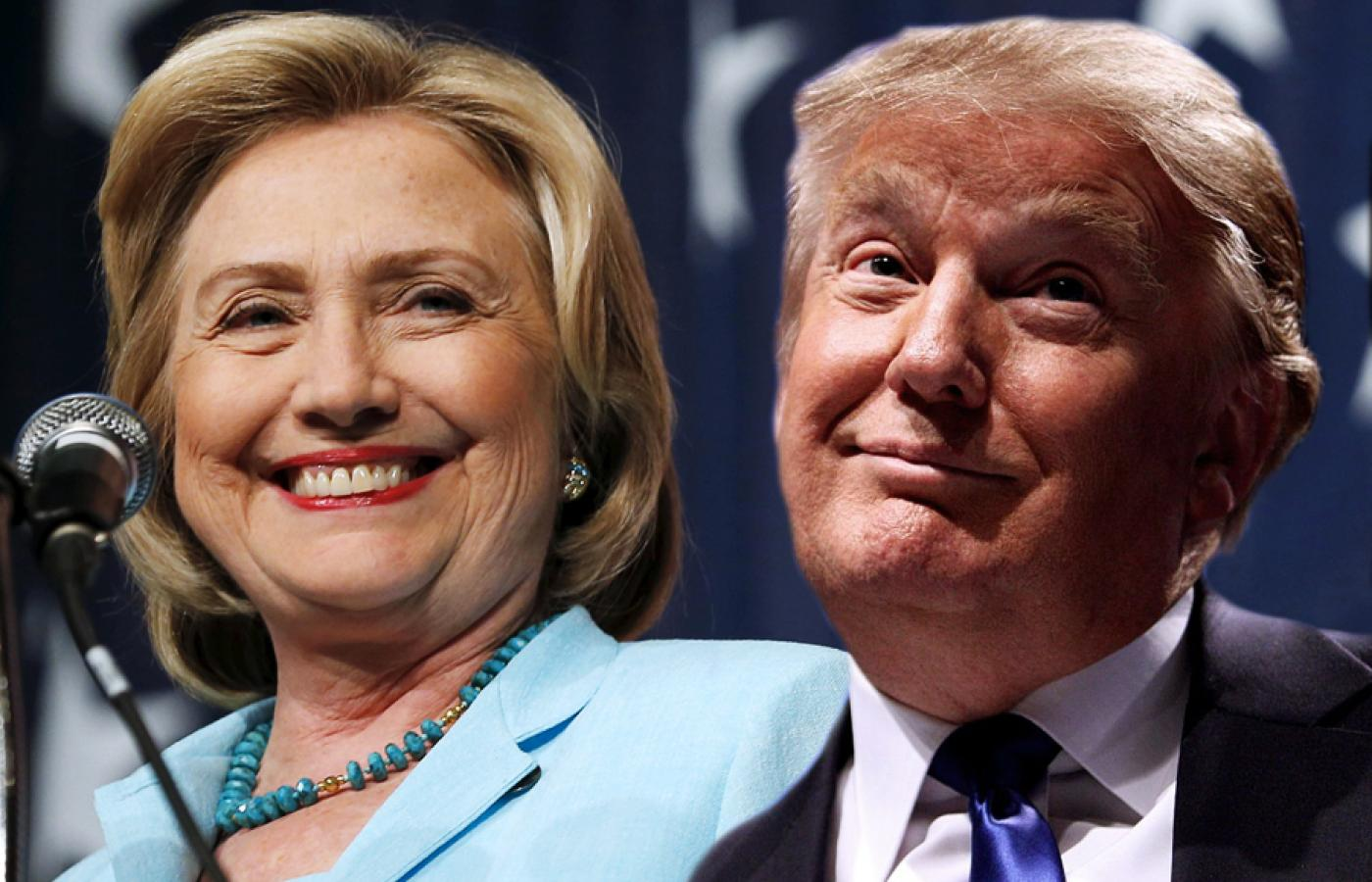 Hillary Clinton i Donald Trump
