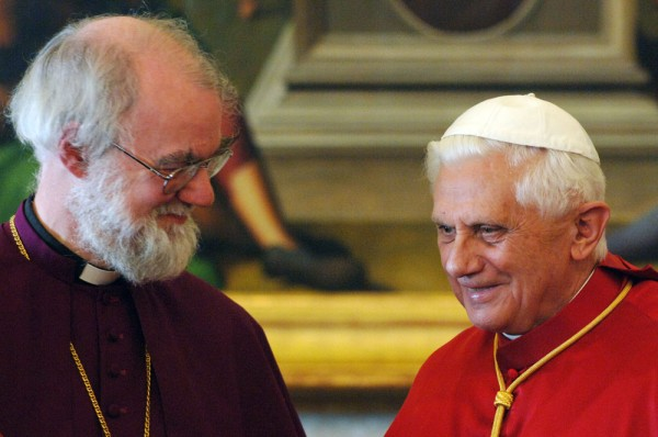 Rowan Williams i Benedykt XVI