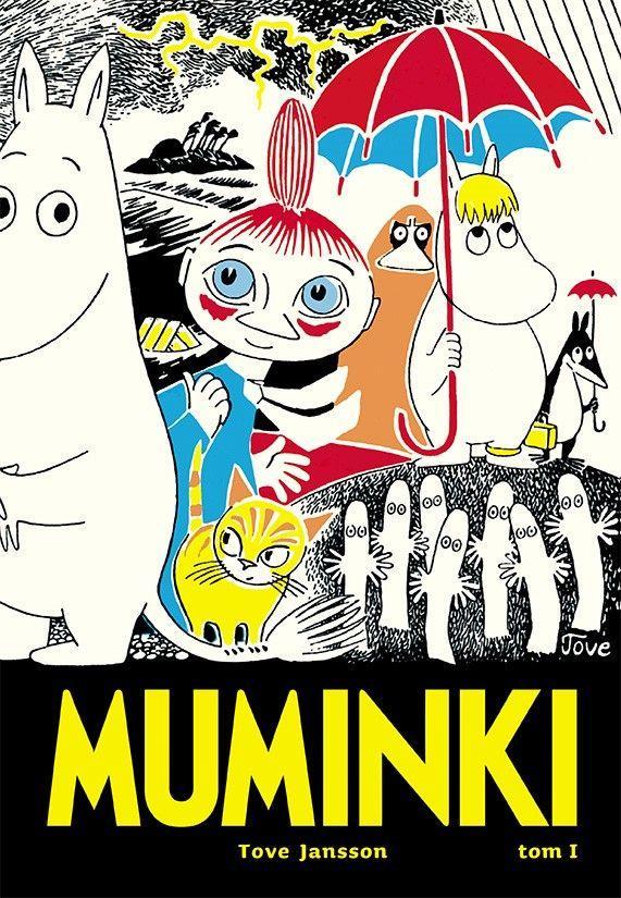 "Okładka książki ""Muminki, tom 1"""