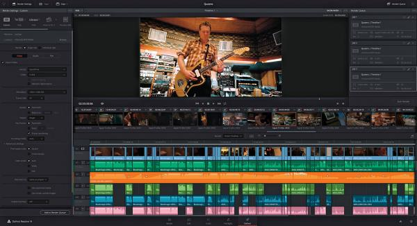 Program DaVinci Resolve 14