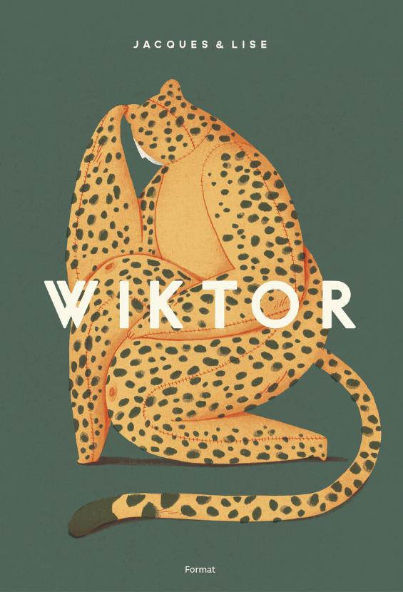 """Okładka książki """"Wiktor"""""""