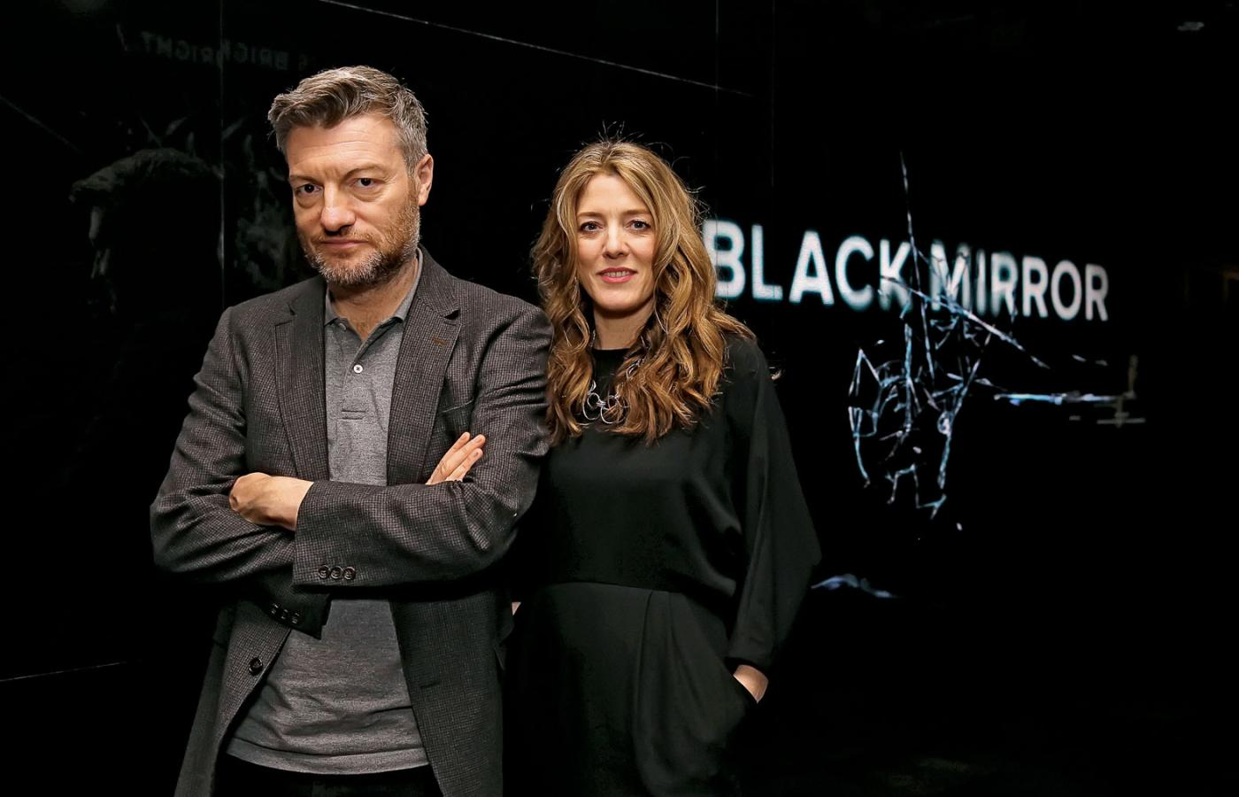 Charlie Brooker i Annabel Jones