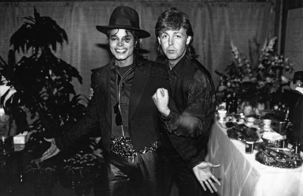 Paul McCartney i Michael Jackson.