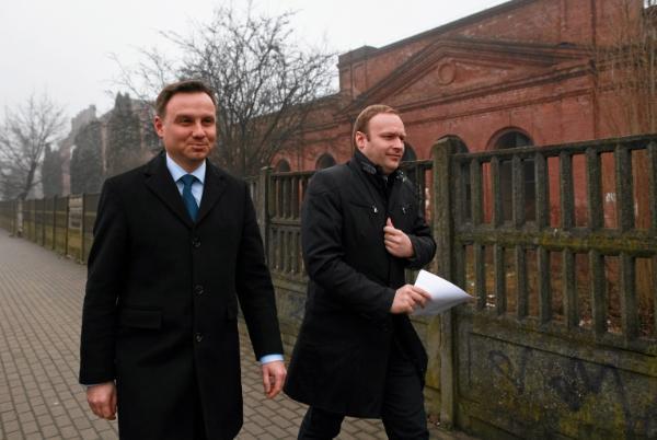 Andrzej Duda i Marcin Mastalerek, styczeń 2015