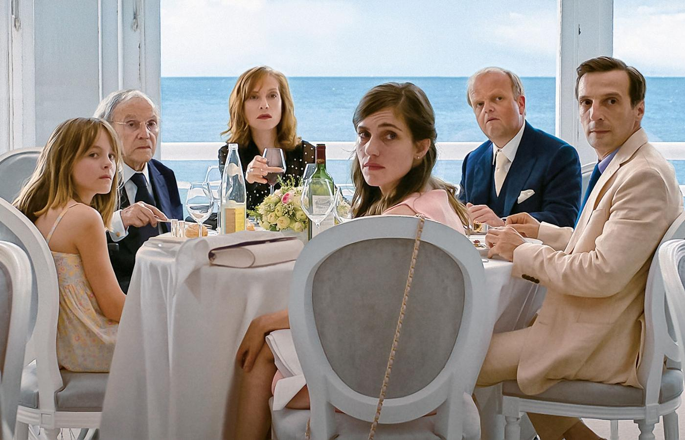 "Kadr z filmu ""Happy end"", reż. Michael Haneke"