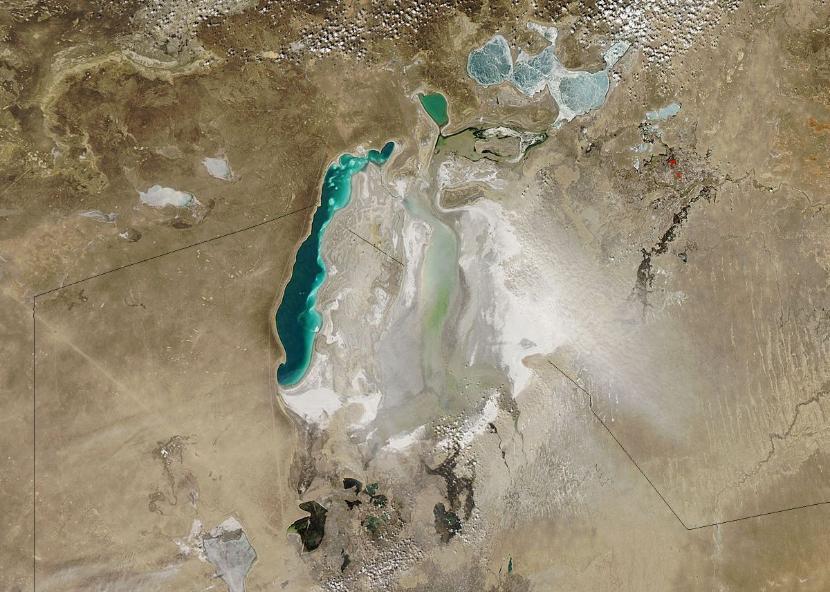 Kojarzenie słone jezioro