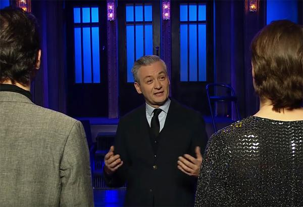 "Robert Biedroń w ""Saturday Night Live"""