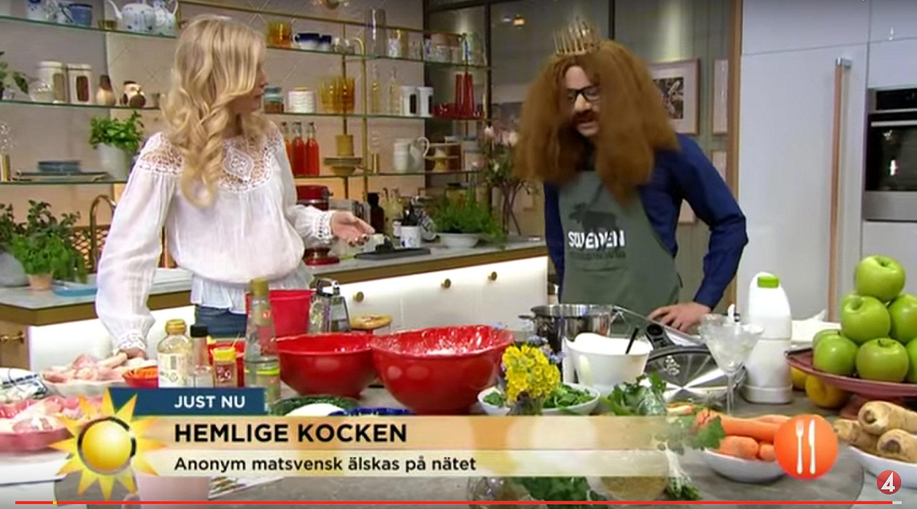 Szwedzki Kucharz Ktory Rzuca Polskim Miesem Szwed Narobil Bigosu