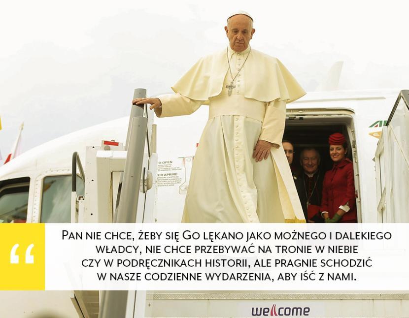 Papież Franciszek Mówi Do Nas Na światowych Dniach Młodzieży 13