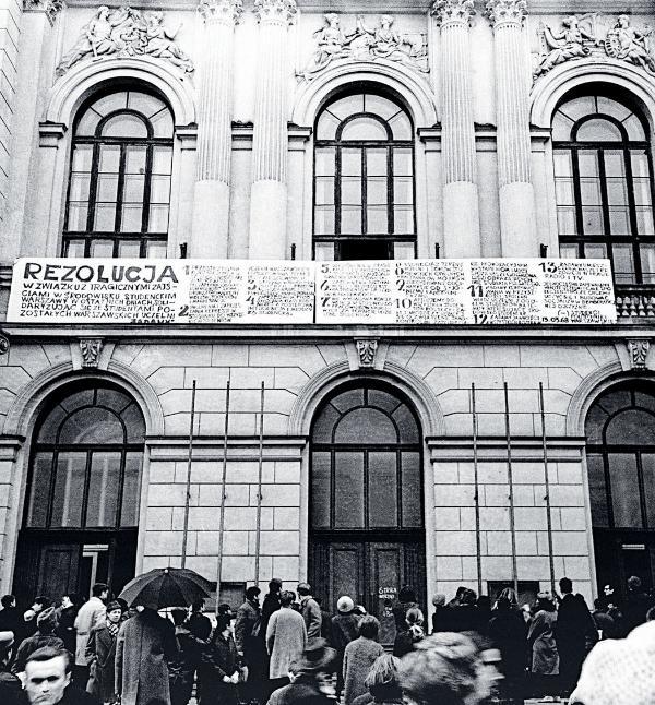 Strajk okupacyjny studentów Politechniki Warszawskiej, marzec 1968 r.