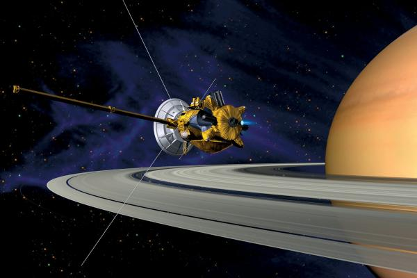 Saturn sonda Cassini-Huygen